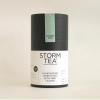 Handcrafted Gunpowder Tea with Peppermint