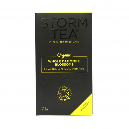 50 Organic Whole Camomile Blossoms