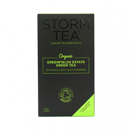 50 Organic Greenfields Estate Green Tea