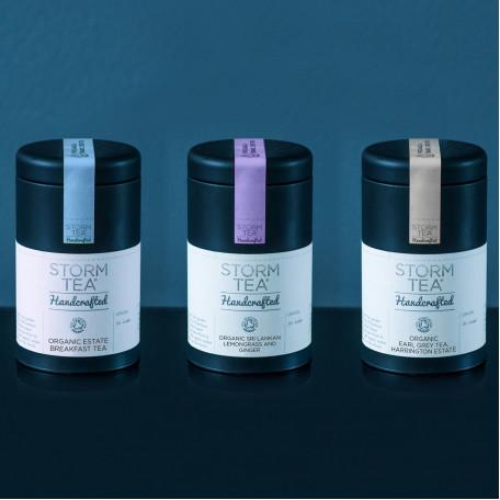 Trio of Handcrafted Tea Caddies - classic range